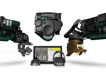 Volvo Penta vinner IBEX Innovation Award for D4 og D6 Marine Propulsion Systems