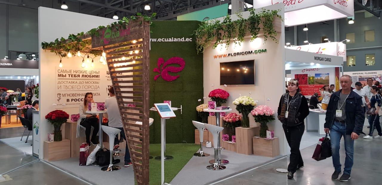 Diseño stand para marcas comerciales