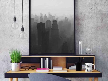 Decoración industrial y lámparas estilo vintage
