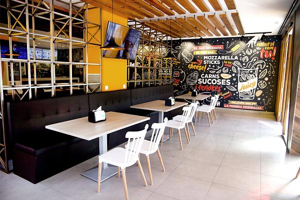 Diseño interior para restaurantes, decoración y remodelacón de restaurantes en Barcelona-España