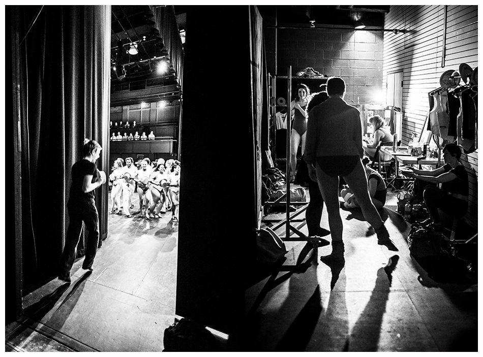 Backstage evento