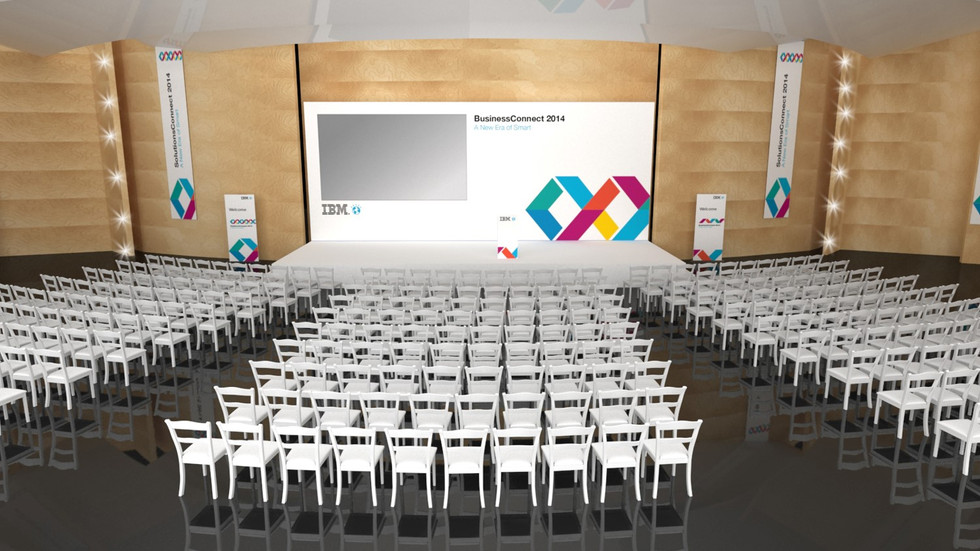 IBM Stage Design and Seating