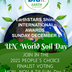 CHALLENGE Earthstars Shine Awards CanUDIGIT.earth