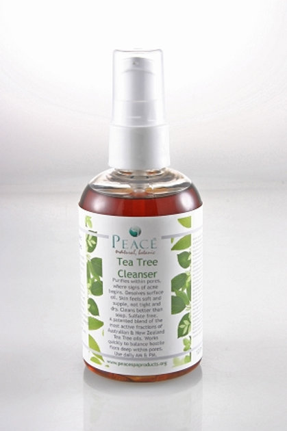 #1040  Tea Tree Cleanser Retail 4 oz- Whlse