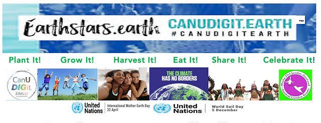 EarthStars CanUDIGit.earth Logo & Photo