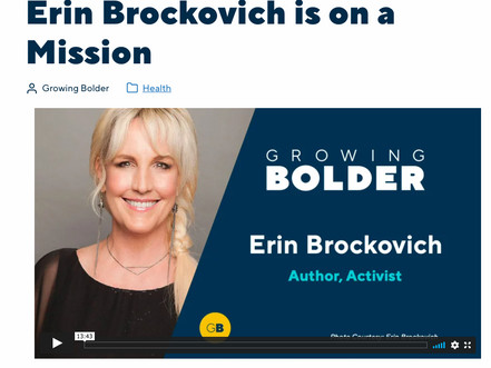 PeaceJourney.com Is a Big-Time Erin Brockovich Fan!
