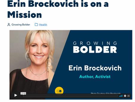 PeaceJourney.com Is a Big-Time Erin Brockovich Fan!