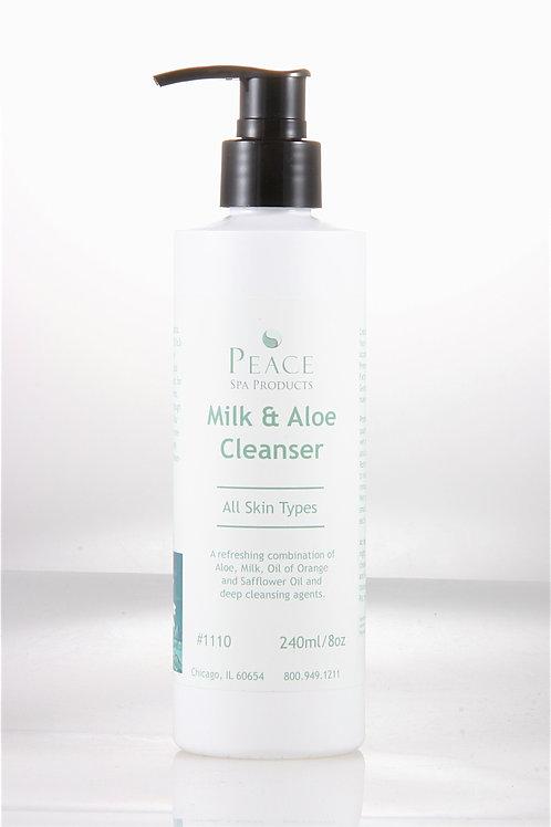 #1110  Aloe & Milk Cleanser BB 8oz- Whlse