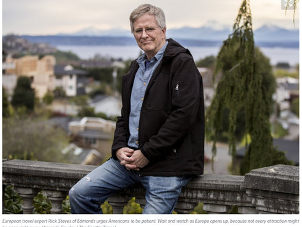 Rick Steves tells us what to expect when Europe reopens to tourists this summer