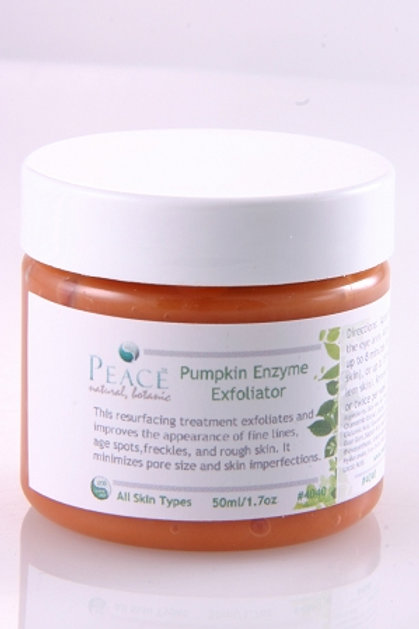 #4040  Pumpkin Enzyme Exfoliator  2oz