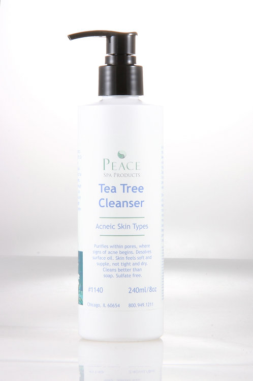 #1140  Tea Tree Cleanser BB 8oz - Whlse