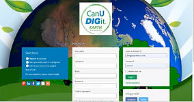 CANUDIGIT.Earth Landing Page April 2021.