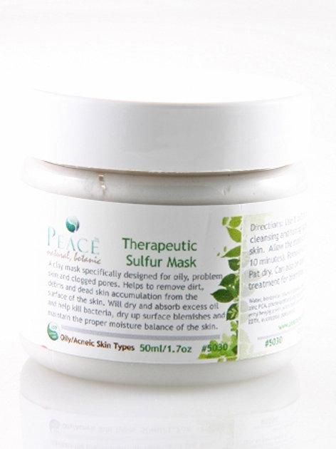 #5030  Therapeutic Sulfur Mask  2oz