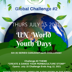 CHALLENGE 2 CanUDIGITearth Permaculture
