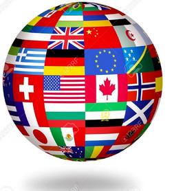 Flags World Globe Image