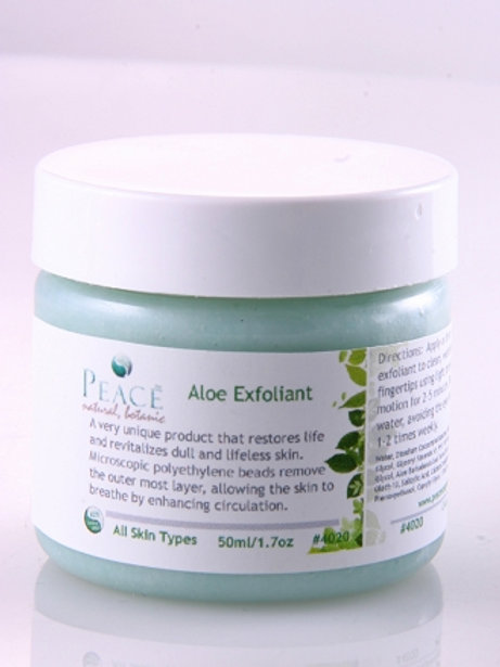 #4020  Aloe Exfoliant Retail 2oz- Whlse