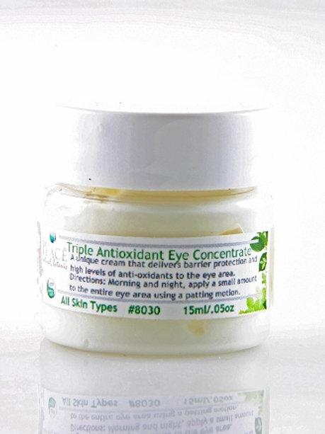 #8030  Triple Antioxidant Eye Concentrate  .5oz