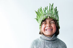 Little boy with a asparagus crown.jpg