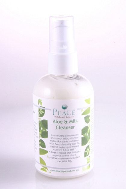 #1010  Aloe & Milk Cleanser 4oz