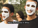 Morocco Mime Students Jeannette Kravitz,