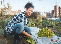 Girl Planting PeaceJourneycom