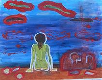 Målning, Lena Irvall.