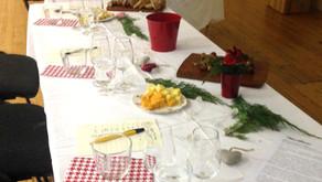 Wine tasting in Wimborne & Wilton at Christmas