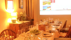 A private wine tasting party 24th January 2015