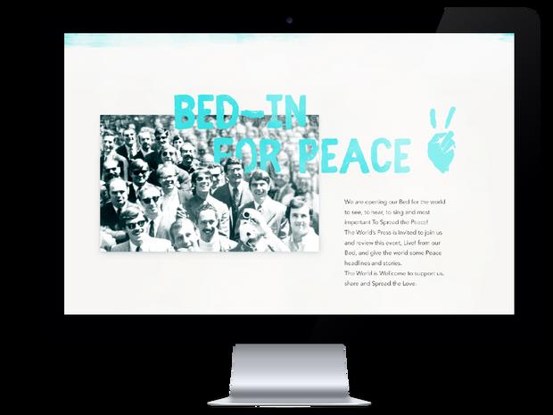 Peace Protest Invitation