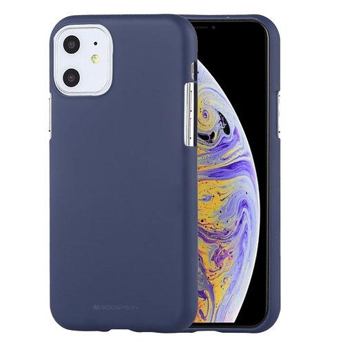 iPhone 11 Soft Feeling Jelly Case Mercury Goospery