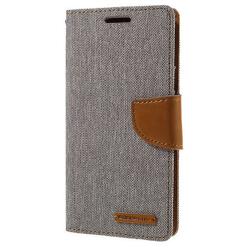 Samsung Galaxy S7 Canvas Diary Case Mercury Goospery