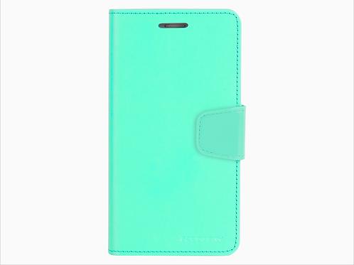 iPhone X / XS Sonata Diary Case Mercury Goospery