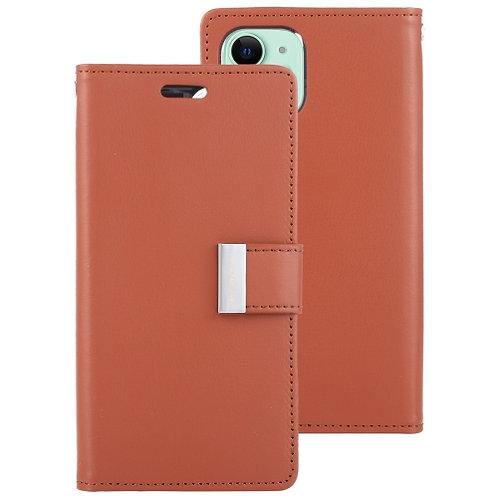 iPhone 11 Max Pro Rich Diary Case Mercury Goospery