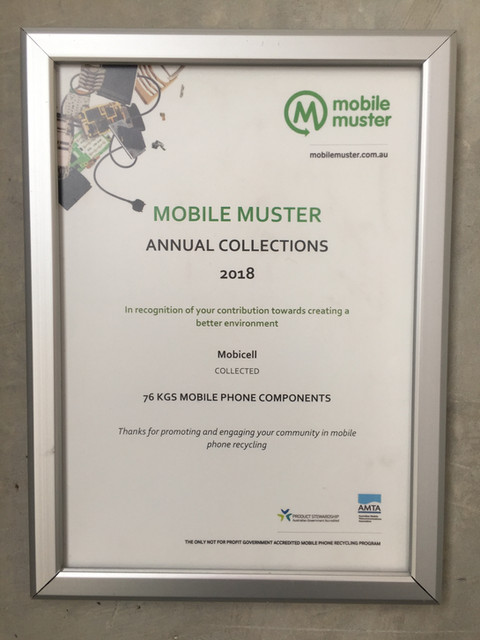 Mobicell Mobile Muster Recycle Mobile Phone