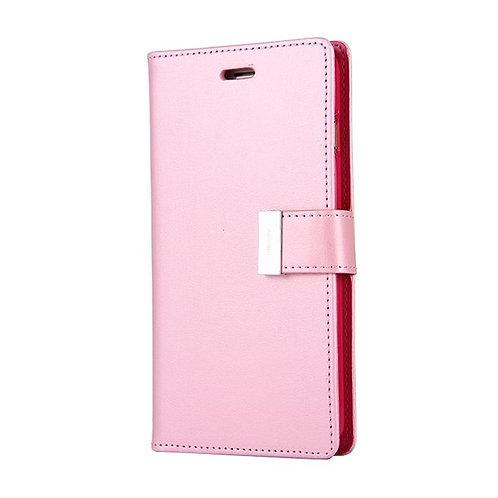 iPhone 7 / 8 Rich Diary Case Mercury Goospery