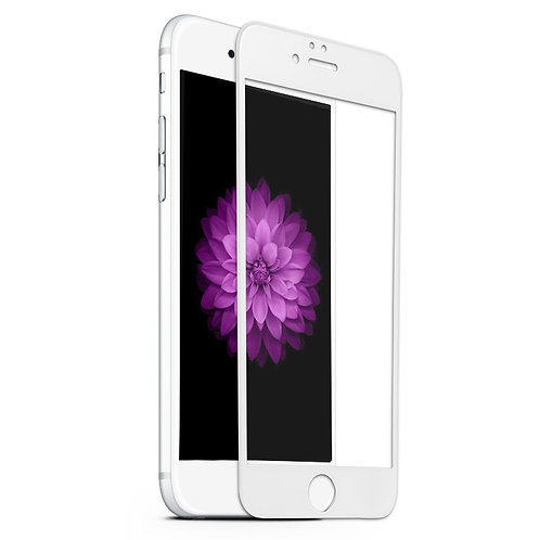 iPhone 6, 6s 3D WhiteTempered Glass