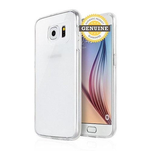 Samsung Galaxy S6 Edge Clear Jelly Case Mercury Goospery