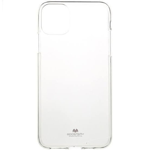 iPhone 11 Clear Jelly Case Mercury Goospery