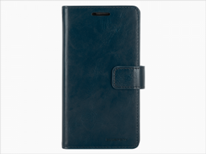 Samsung Galaxy S7 Edge Blue Moon Diary Case Mercury Goospery