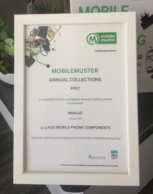 Mobicell Mobile Muster Recycle Mobile Ph