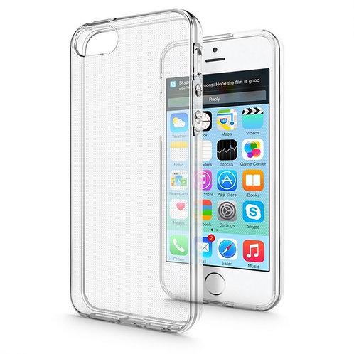 iPhone 5S SE Clear Jelly Case Mercury Goospery