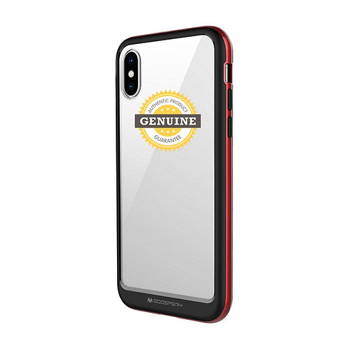 iPhone XR Bumper X Case Mercury Goospery