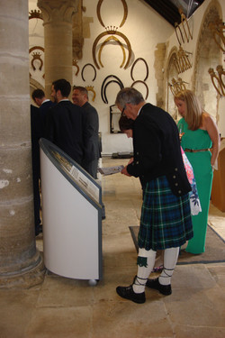 Guests enjoy the history