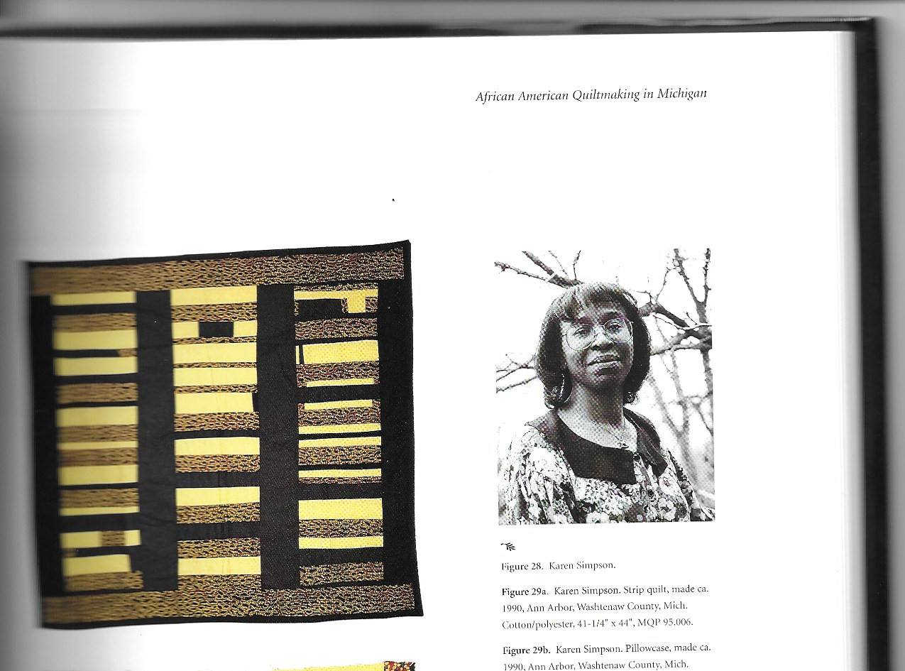 Book Excerpt, African American Quiltmaking in Michigan