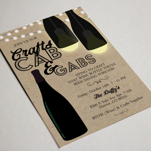Girls Night Party Invitation
