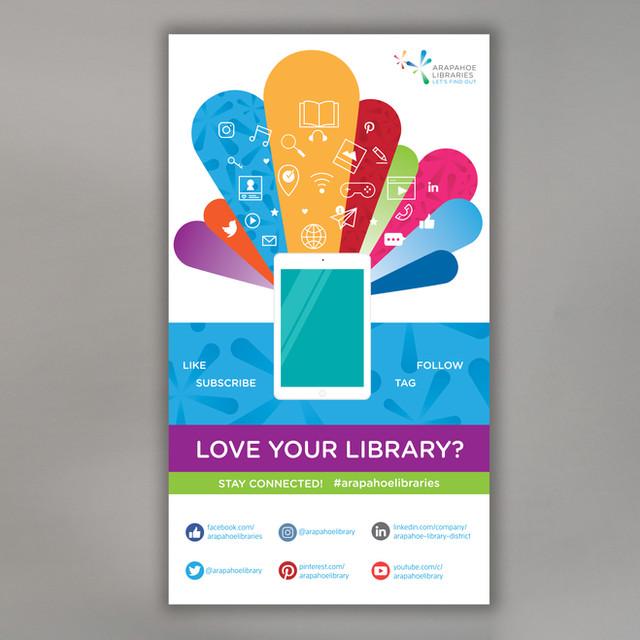 Social Media Promotion Poster