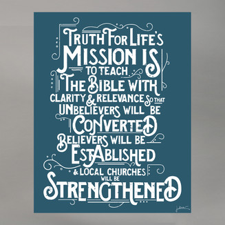 Mission Statement Poster Design