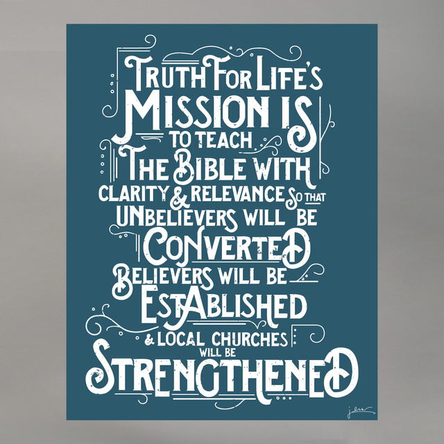 Mission Statement Poster Design