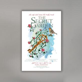 Secret Garden Theater Production Poster