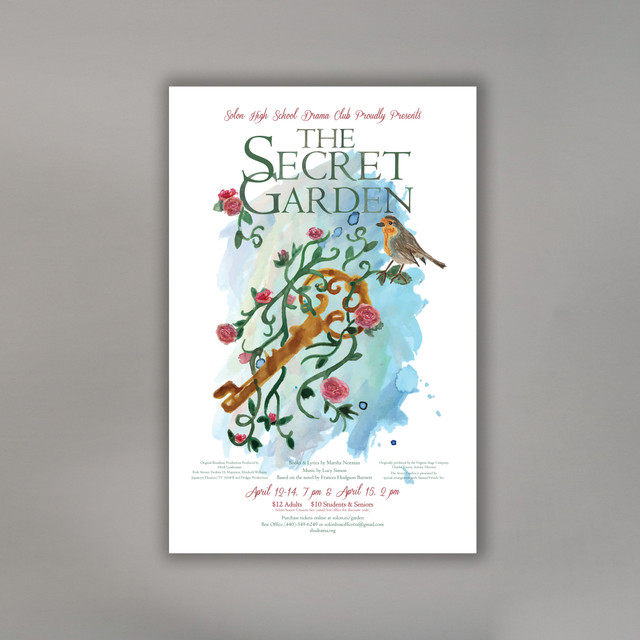 Secret Garden Theater Production Poster